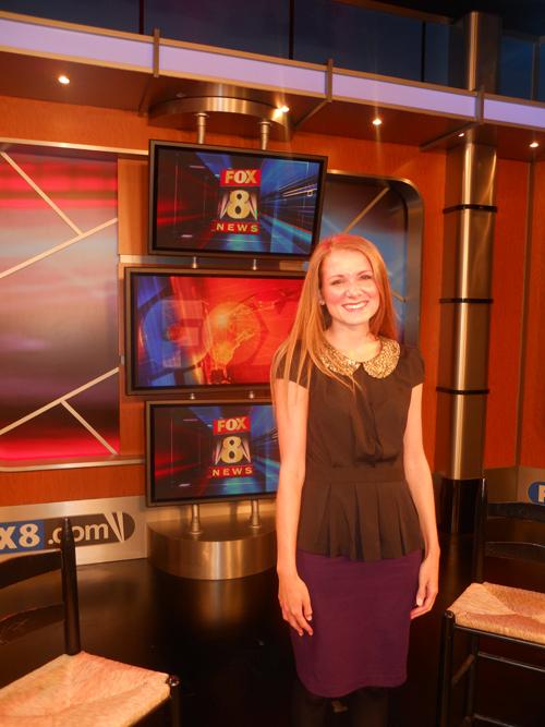 Fall Fashion Fox 8 News Segment – Christina Darling